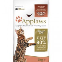 Applaws Adult Salmon & Chicken Dry Cat Food 400g