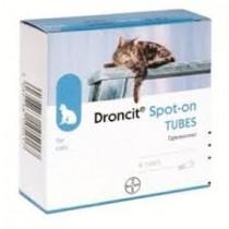 Droncit Spot on 4 Tubes