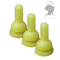 3 x 2 oz. Replacement Nipples by Petag (Also fit our Luer Lock Syringes & Beaphar Bottle)