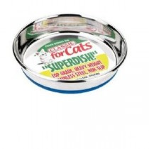 Classic Non Slip Cat Stainless Steel Superdish 500ml (160mm)