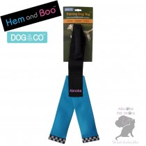 BLUE Hem & Boo FIREHOSE Y SHAPE Dog Training Toy Dog & Co tightly woven nylon shell …