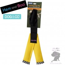 YELLOW Hem & Boo FIREHOSE Y SHAPE Dog Training Toy Dog & Co tightly woven nylon shell …