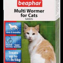 Beaphar Multi Wormer for Cats 12 Tablets