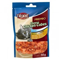 Trixie PREMIO Cheese Chicken Cubes – 50 g