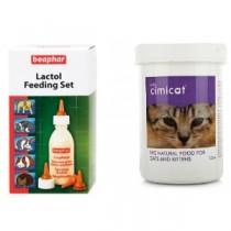 Cimicat 250g & Lactol Feeding Set