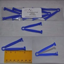 Reusable Umbilcal / Naval Cord Clamps x 5