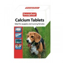 Beaphar Calcium Tablets Ideal for puppies & Nursing females