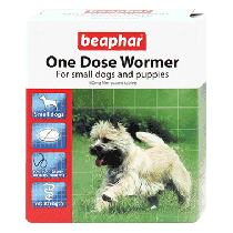 Beaphar One Dose Wormer – Small Dog