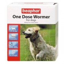 Beaphar One Dose Wormer – Large Dog