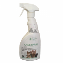 Animal Health Home Cage Spray Ready to use disinfectant contains Parvo-Virucide