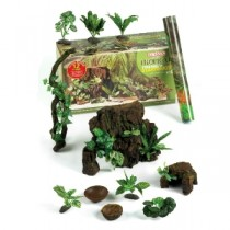Classic Terrarium Tropical 12 Piece Starter Kit