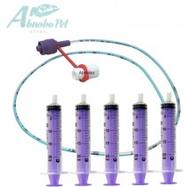 NEW LONGLIFE Tube Feeding Kit - 5 French Tube, 5 x 20ml Syringes