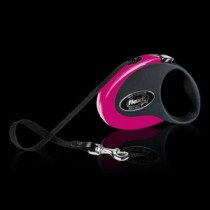 Flexi Collection – 3 m Tape Leash SMALL PINK up to max. 12 kg
