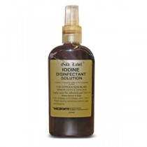 Gold Label Iodine Disinfectant Solution 250ml