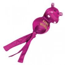 Kong Wubba Ballistic Friends – Pink Hippo – Small