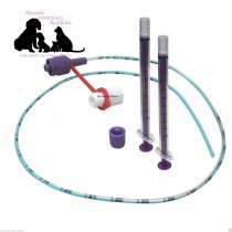 NEW LONGLIFE Tube Feeding Kit - 5 French Tube, 2  x 1ml Syringes & Cap