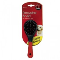 Mikki Porcupine Brush for double/thick coats