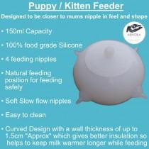 Puppy / Kitten Feeder (100% Food Grade Silicone)