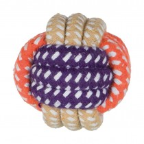 Dog Rope Ball cotton mix ø 6 cm