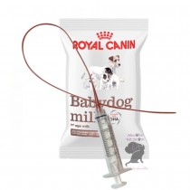 3.5F Sterile Feeding Tube & Syringe with 100g Royal Canin Babydog Milk