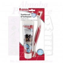 Beaphar Dog Toothbrush & Toothpaste Kit