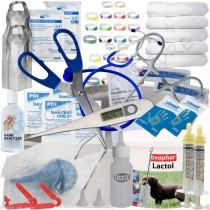 Abnoba's ESSENTIAL Puppy Whelping Kit Beaphar Lactol Milk Bottle Iodine ID Bands & More (12222)