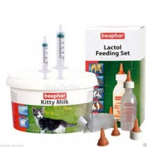 Beaphar Kitty Milk 200g & Lactol Feeding Set