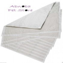 Whelping Box liners Large 57 x 75cm 5 Ply Heavy Duty Absorbent Puppy Crate Pads X 10