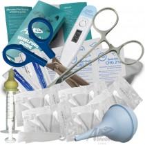 Puppy Whelping Kit Cord Clamps Forceps Scissors Aspirator Milk Syringe Nurser