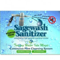 Sagewash Sanitizer SWS-SP-250 Starter Pack