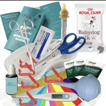 Whelping Kit Aspirator Cord Clamps Iodine Royal Canin Puppy Milk Syringe Nurser (4645)