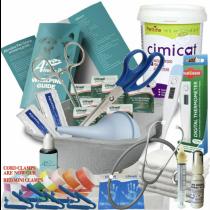 Full Whelping Kit Cimicat Milk & Syringe Nurser Kitten Life Drops Iodine Towels