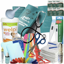 Full Whelping Kit Welpi Puppy Milk & Syringe Nurser Dog Life Drops Iodine Towels