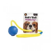 Ruff 'N' Tumble Rub 'R' Ball Nobbly Toy Small