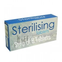 Strip of 8 Sterilising tablets