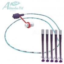 NEW LONGLIFE Tube Feeding Kit - 4 French Tube, (1.33mm) 5 x 1ml Syringes