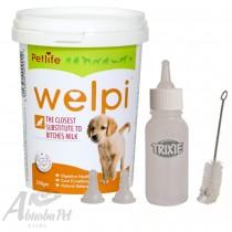 Welpi 250g & Trixie Suckling Bottle Set 57ml