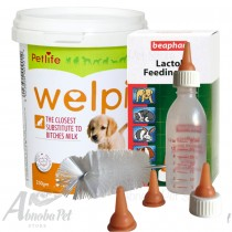 Welpi Milk 250g & Lactol Feeding Set