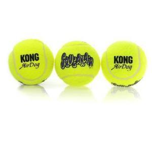 KONG AirDog Squeakair Ball – Small x 3